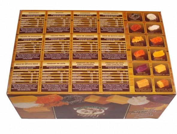 Caixa Display Doces Caseiros