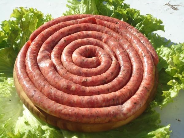 Linguiça de Carne Suína Pura Porco