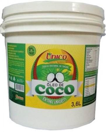 Óleo De Coco Extra Virgem - 3,6 Litros