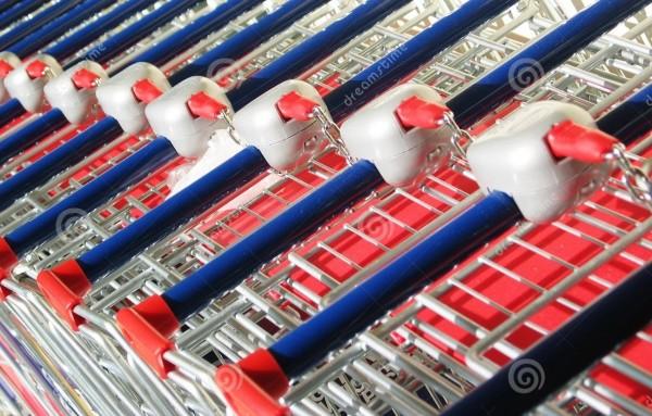 Organizador de Carrinhos para Supermercados